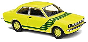 Busch 42108-Opel Kadett C Swinger, vehículos, Citrus/Amarillo