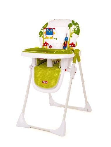 Imagen para Piku Twit-Twoo - Trona para bebés con bandeja regulable
