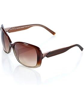 Calvin Klein Damen Sonnenbrille Braun braun