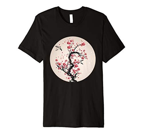 Aquarell-Kirschblüten-Baum-T-Shirt
