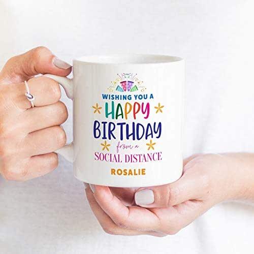 Lockdown Birthday Mug/Wishing You A Happy Birthday With