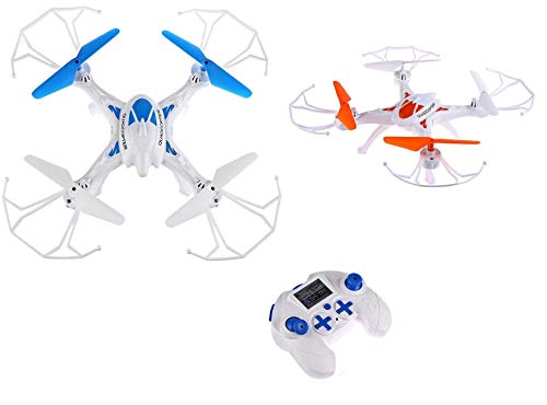 SUPER TOY Professional Quadcopter Drone with 360-Degree Rotation 2.4G RC Helicopter Flying Toy
