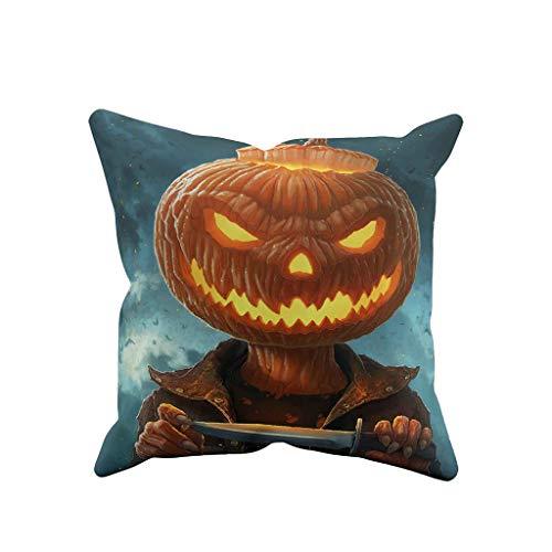 Orange Uhrwerk Frauen Kostüm - jieGREAT ❤❃ Räumungsverkauf❤❃ ,Halloween Ghost Kissen Fall Sofa Taille werfen Kissenbezug Home Decor