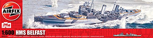 Airfix-A04212-HMS-Belfast-1600-Scale-Series-4-Plastic-Model-Kit