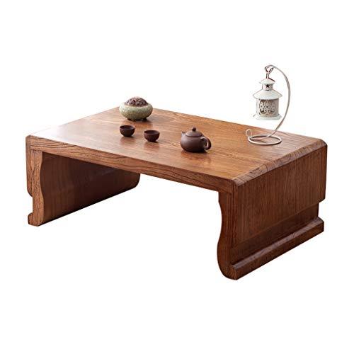 Tische Kaffeetische Couchtisch Tatami Antiker Ulmen-Teetisch Balkon Erkerfenster Kleiner Schreibtisch Wohnzimmer Massivholztisch Schlafzimmer Bett Computertisch Beistelltische -