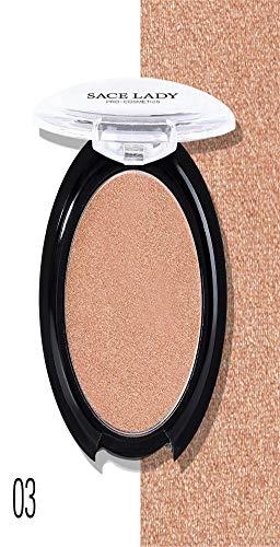 Couleurs Make-up-palette (Barlingrock 1 Pc Visage Fond De Teint Mat Poudre Fard À Joues Lisse Maquillage Contour Visage Fond De Teint Poudre Crème Correcteur Palette 6 Couleurs)