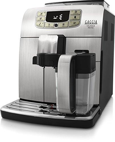 Gaggia Macchina da caffè Automatica RI8263/01 Velasca Prestige, 2 Cups, Acciaio Inossidabile