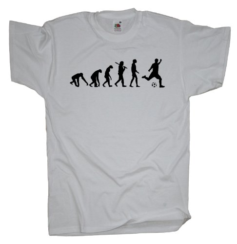 Ma2ca - Evolution - Fussball T-Shirt White