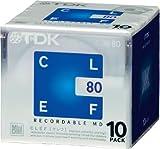 TDK Clef MiniDisc (80minuti), 10pezzi