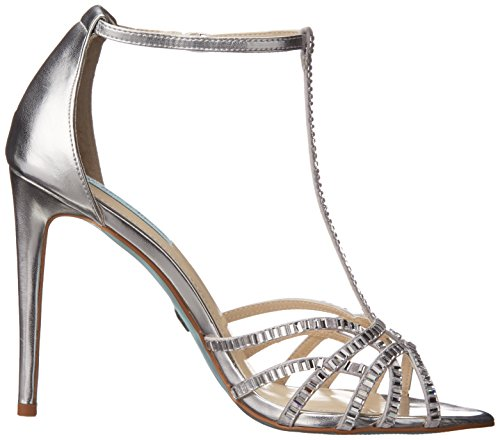 Betsey Johnson Ruby Synthétique Sandales silver