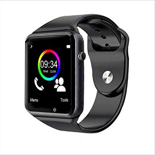 Smart Watch Handy Karte Bluetooth Android Anruf Positionierung Geschenk,Black