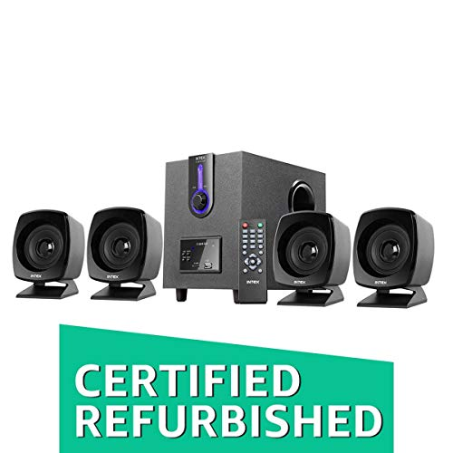 (Certified REFURBISHED) Intex IT-2616SUF-OS 4.1 Computer Multimedia Speakers (Entry Level Speaker)