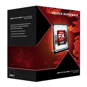 AMD FX-8350 FD8350FRHKBOX Prozessor (Black Edition, 8MB Cache, 4.00 GHz Turbo 4.20 GHz, Sockel AM3+) weiß