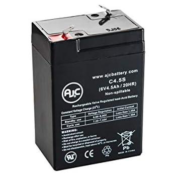 Batterie Vision CP645 6V 4.5Ah Acide scellé de Plomb