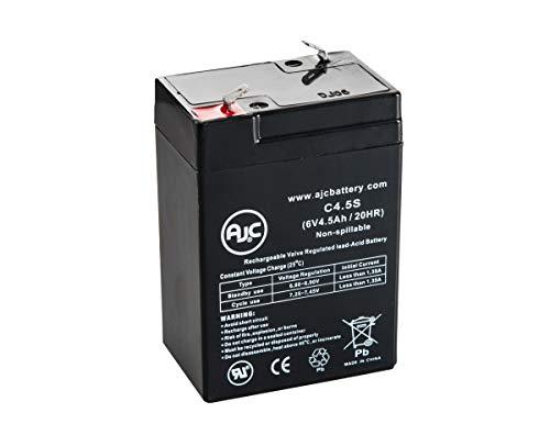 Batterie Astralite DCA-200 6V 4.5Ah Lampe de Secours - Ce Produit est Un Article de Remplacement de la Marque AJC®
