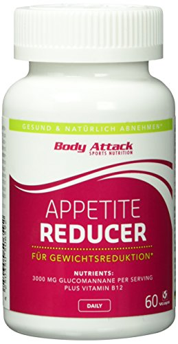 *Body Attack Appetite Reducer 60 Kapseln, 1er Pack (1 x 0.052 kg)*