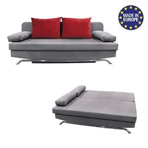 schlafsofa bono neu mit koffer k che haushalt. Black Bedroom Furniture Sets. Home Design Ideas