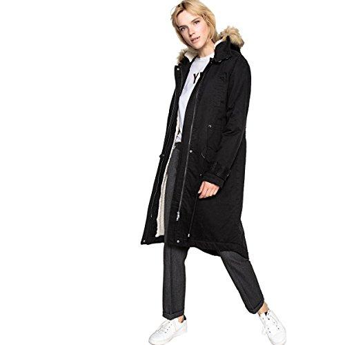 La redoute collections donna parka con cappuccio e pelliccia sintetica 48