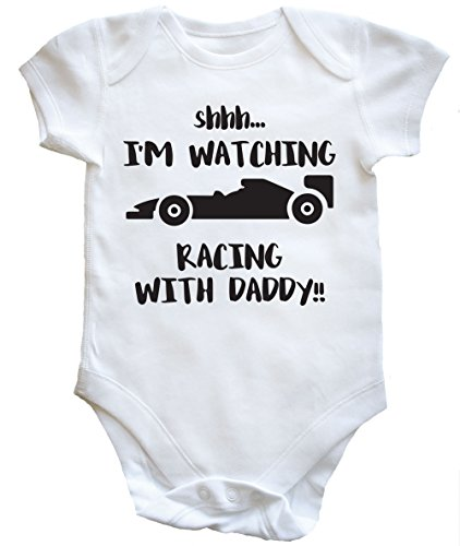hippowarehouse-shhh-im-watching-racing-with-daddy-baby-vest-boys-girls