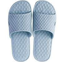 Unisex Slippers Bath Slippers House Slippers Casual Anti-Slip shower Sandals(XL)
