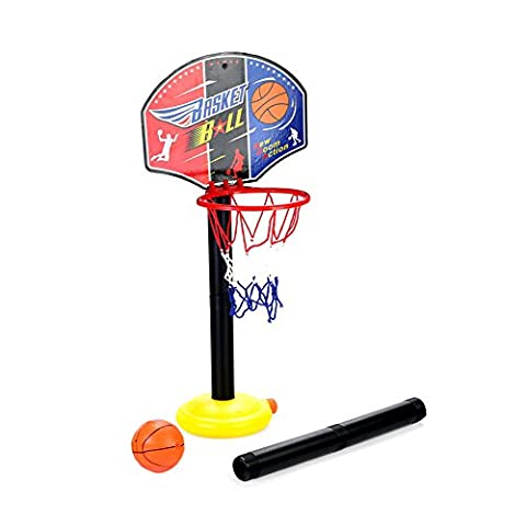 Kids Junior Portable Basketball Wall Set Indoor and Outdoor Summer Garden Beach Fun Ball Toy Activities for Toddlers to Customize Baby