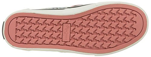 Pepe Jeans Londra Damen Alford Jungle Sneaker Schwarz (999 Nero)