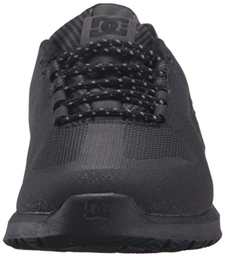 DC Lynx Lite Skate Shoe, Black/Black/White, 11 M US Black/black