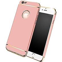 8830e7104a per cover iPhone 6/6S, Cover opaca antiurto e antigraffio+Vetro temperato  Protezione