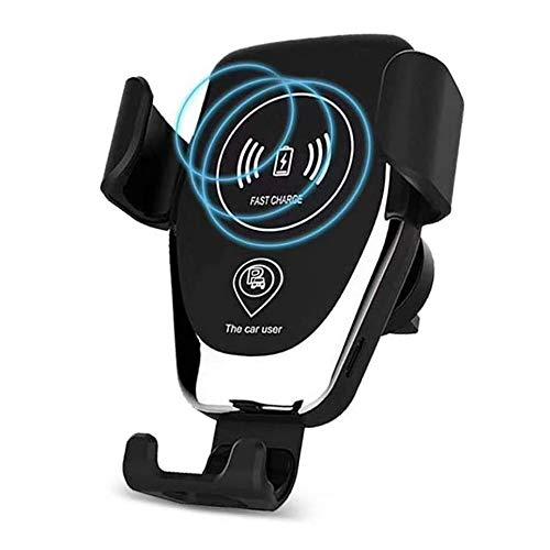 LOOKit 10W Fast Wireless PKW KFZ Auto Charger Handyhalterung CZ4-2019 Qi Ladegerät kompatibel für Huawei Mate 20 Pro Huawei Y7 2018 Google Pixel 3 Samsung Galaxy S10 e A50 + LG V40 ThinQ