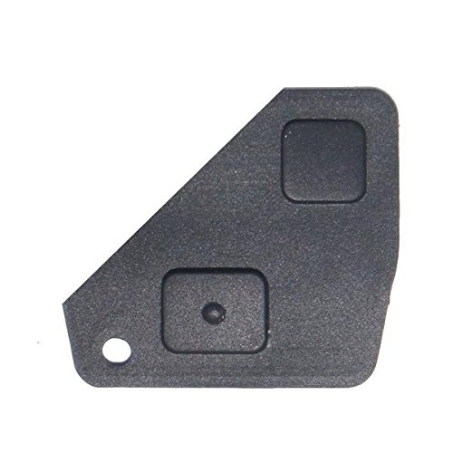 2 botones para llave con telemando para Toyota Avensis, Yaris, Carina.