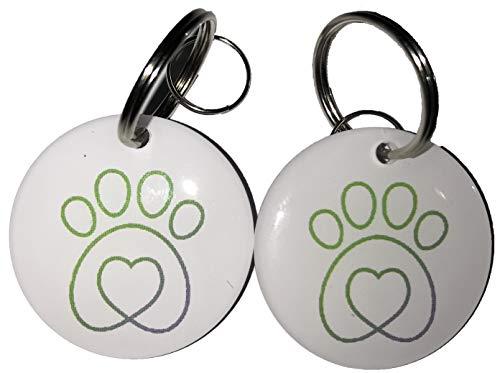 Cat Mate Katzenklappe Elite Mikrochip RFID Halsband Tags Disc Schlüssel Ersatz (2 Stück)