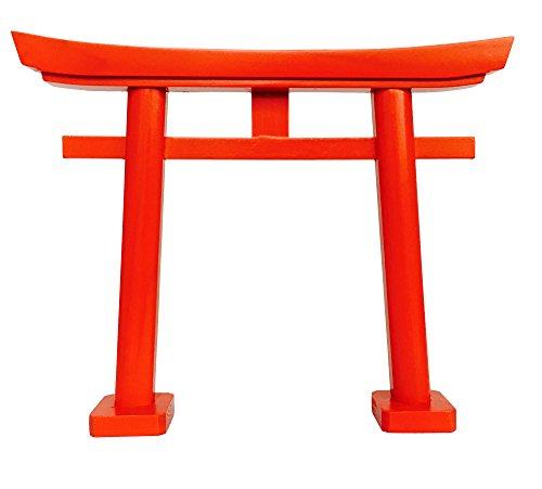 Shinto Shrine KAMIDANA SMALL RED TORII Gate Straight Legs from Japan by Kamidana-no-Sato