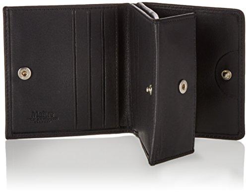 Maitre Herren f3 Quirin Billfold Q6F Geldbörsen, 10x9x1 cm Schwarz (Black 900)