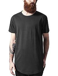 Urban Classics Peached Shaped Long Tee, Camiseta para Hombre