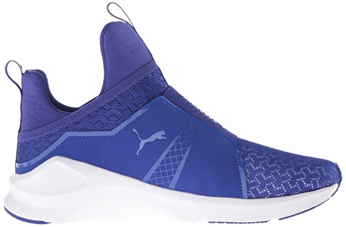 Puma Womens Fierce ENG Mesh Cross-Trainer Shoe Royal Blue/Puma White