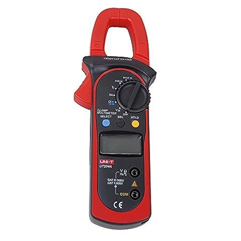 UNI-T Ut204a Poignée numérique multimètre testeur DMM Voltmètre AC DC Mètre