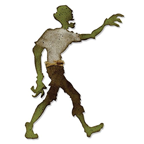 Sizzix 661590Bigz Stanzschablone, Lost Zombie von Tim Holtz -