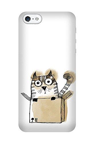 iPhone 4/4S Coque photo - Cat dans une boîte