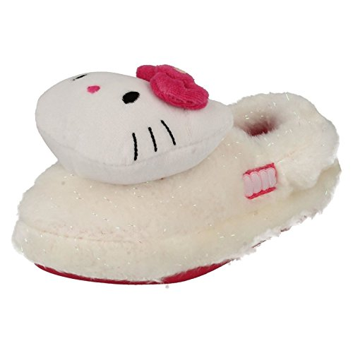 Ragazze Hello Kitty pantofole Mist 3d, multicolore (White/Pink), 25 EU