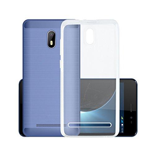 Easbuy Handy Hülle Soft TPU Silikon Case Etui Tasche für Leagoo Z6 Smartphone Bumper Back Cover Handytasche Handyhülle Schutzhülle