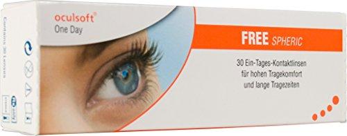 Oculsoft One Day Free Spheric Tageslinsen weich, 30 Stück / BC 8.7 mm / DIA 14.0 /