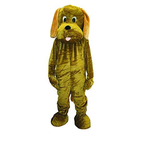 Dress Up America 480-Adult Welpen Maskottchen Kostüm Set, unisex-child, Einheitsgröße (Taille 60, Höhe 75 Zoll)
