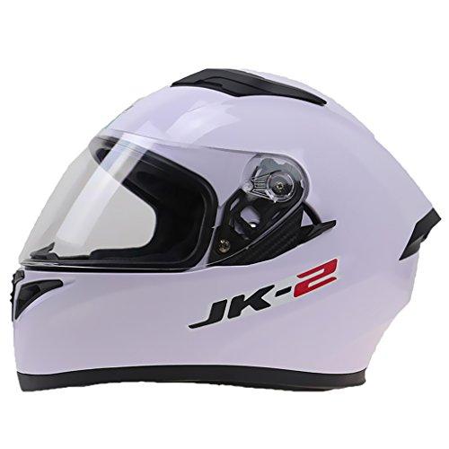 Sharplace casco modulare corsa doppia visiera apribile flip up anti graffio per motocicletta - xxl