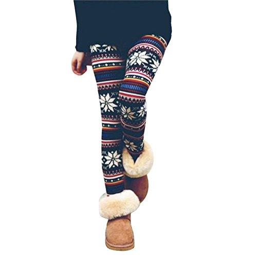 ZARU ♥♥♥ Mujer Flaco Jegging Pantalones Leggings★Modelo geométrico elástico★ ♥♥♥ (XXL, 8133)
