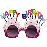 Boland 02612 Glasses Happy Birthday Fancy Dress One Size
