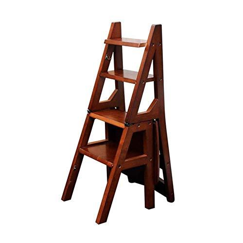 QTQZDD Escalera Plegable Escaleras Plegables 4 Lars Zapatos de ...