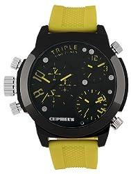 CEPHEUS Mens CP902-620C Analog-Quartz Watch