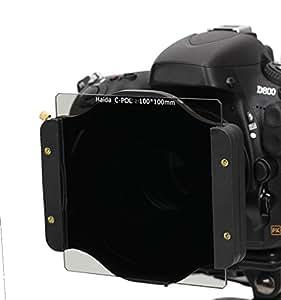 Filtre polarisant numérique de HAIDA 100 x 100mm en tant que titulaire filtre plug-in pour 100 série filtre