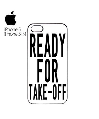 Ready For Take-Off Mobile Phone Case Cover iPhone 6 Plus + White Blanc