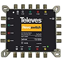 Televes - Repartidor nevoswitch 5x5x5 4/4db